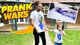 Disappearing Ink Prank on my Dad - Prank Wars!!