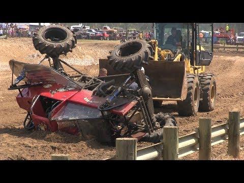 Mud Truck Wrecks Compilation 2017