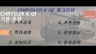[WOT] CHRYSLER K GF - Review . 2018 05 27
