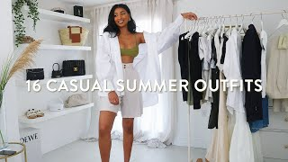 CASUAL SUMMER OUTFITS | SUMMER LOOKBOOK 2020 | NOORIE ANA