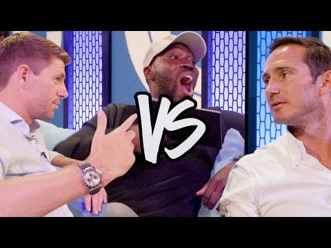 Steven Gerrard VS Frank Lampard | CheekySport Dave Questions Both
