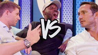 Steven gerrard vs frank lampard | cheekysport dave questions both
