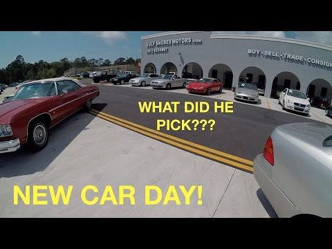Dad Buys a NEW CAR! Car Shopping Across the U.S.A!