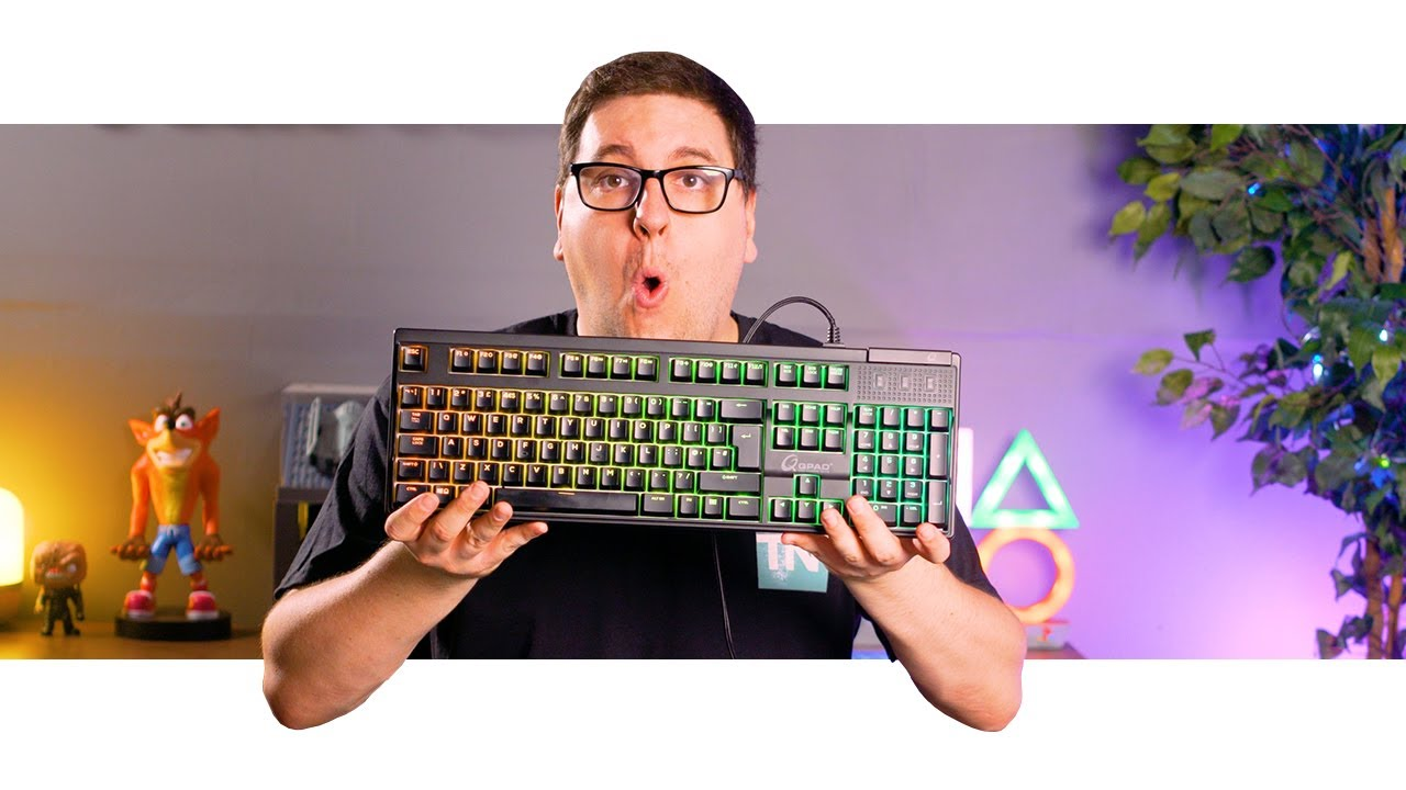 You Pay The Price To Be Basic | QPad MK-75 Gaming Keyboard Review