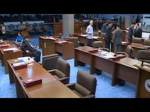 Senate Session No. 12 (August 19, 2019)