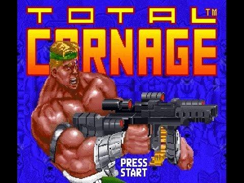 SNES Longplay [447] Total Carnage