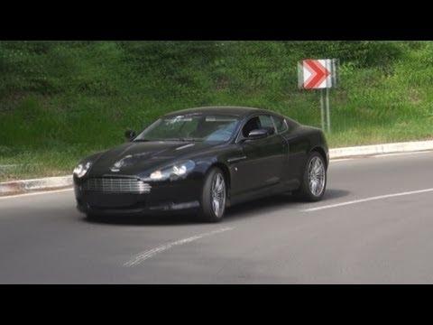 Aston Martin DB9 - loud & beautiful