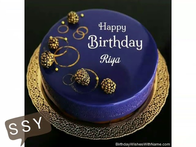 Happy Birthday Riya Birthday Name Song Youtube