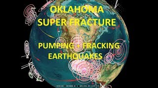 4/09/2018 — Multiple Earthquakes strike Midwest USA — Superfracture spreads at Fracking Ops