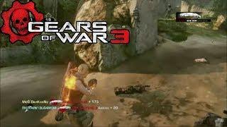 Gears of war 3: Rey de la colina en Banco de Arena / Otro buen mapa :3 / Gameplay HD