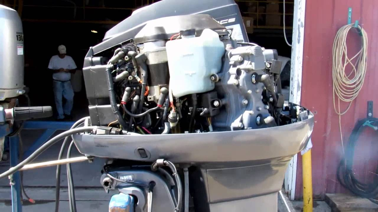 6m5445 used 2004 yamaha 115tlrc 115hp 2 stroke outboard for Yamaha 115 outboard 2 stroke