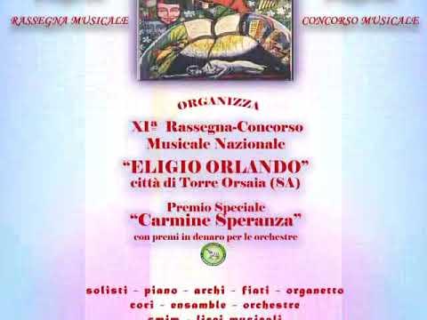 """Torre Orsaia. Torna il contest musicale """" Eligio Orlando """" ."""
