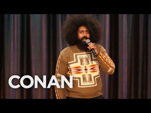 Reggie Watts Performance 11/16/10  - CONAN on TBS
