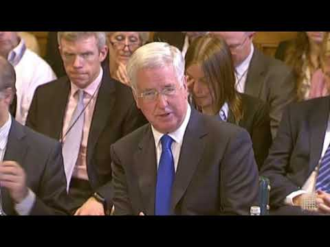 House of Commons Defence Committee - Defence Secretary Part 1