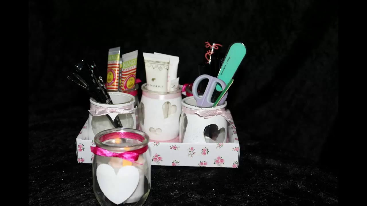 diy pot en verre la laitiere recyclage youtube. Black Bedroom Furniture Sets. Home Design Ideas
