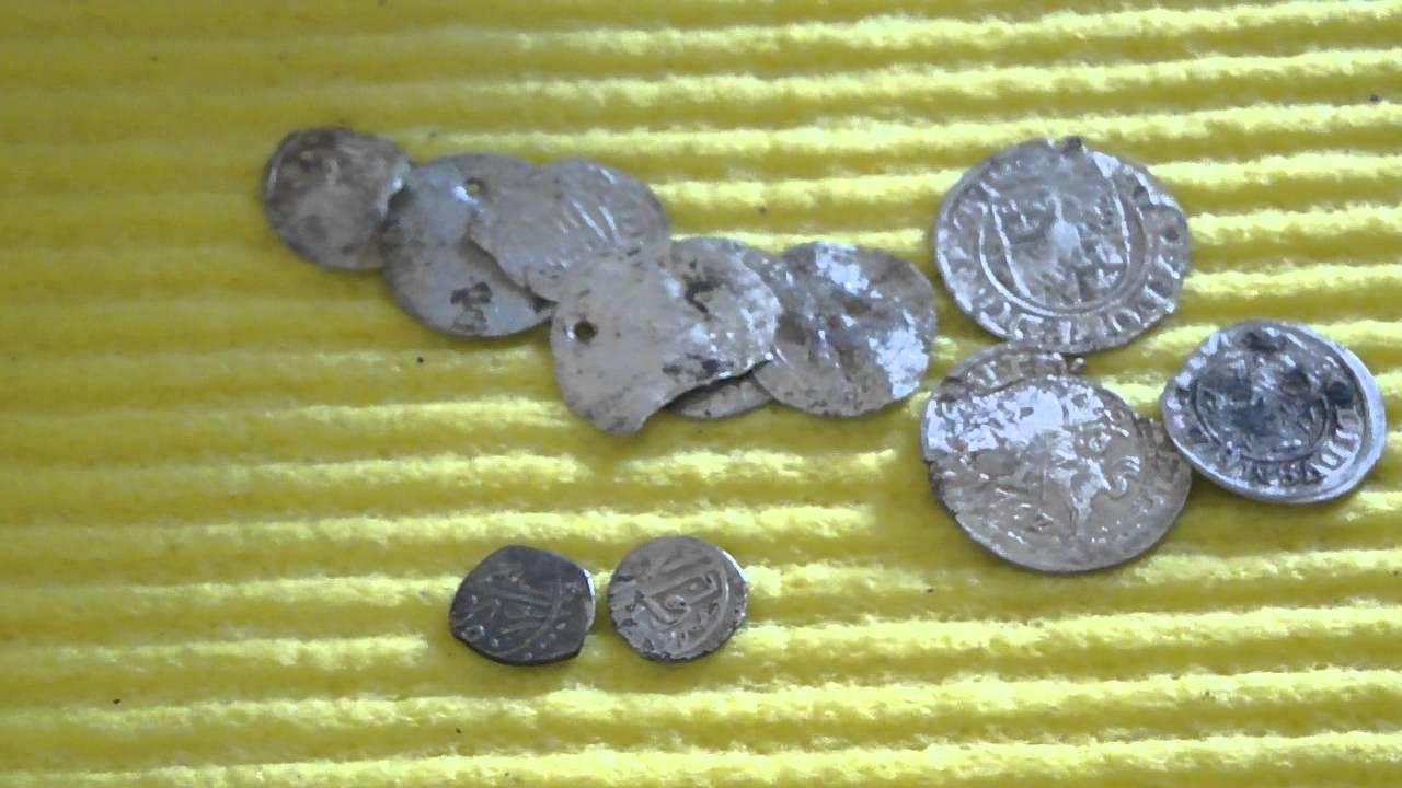 Находки с металлоискателем minelab x-terra 705 серебряные мо.
