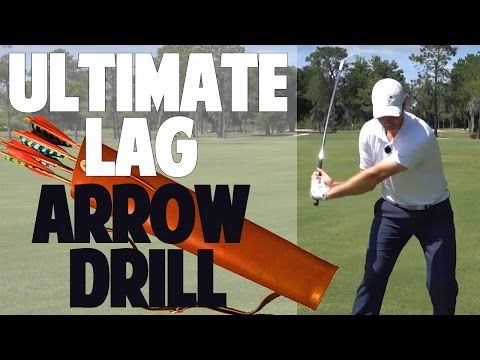 INCREASE YOUR GOLF SWING LAG | The Arrow Drill
