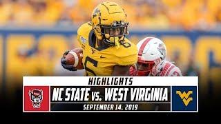 NC State vs. West Virginia Football Highlights (2019) | Stadium