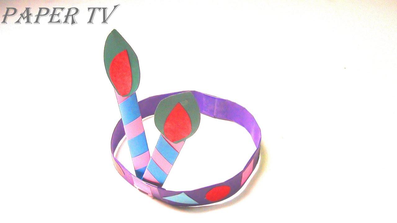 Paper TV Origami hat cap 모자 종이접기 折り紙 帽子 como hacer ... - photo#50