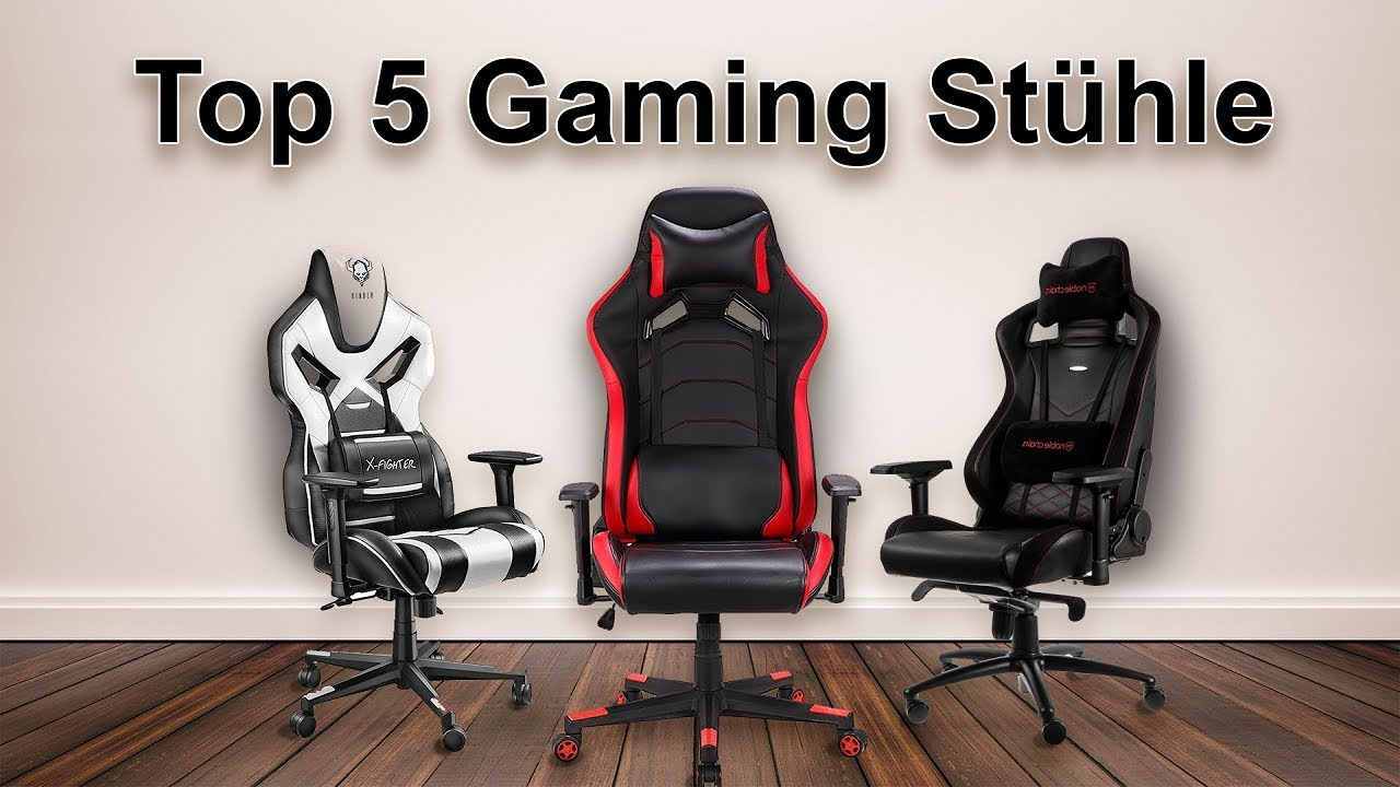 top 5 gaming st hle in 2018 g nstig youtube. Black Bedroom Furniture Sets. Home Design Ideas