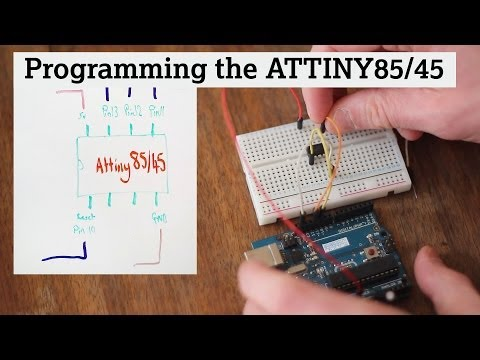 Programming An ATtiny85/45 With An Arduino UNO (Getting Started)