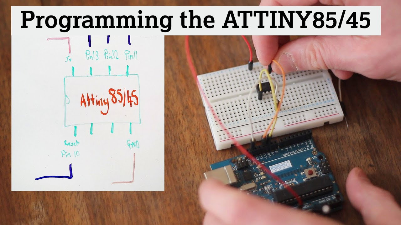 Program an ATtiny With Arduino Arduino - Scribd