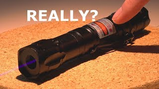 MISLABELED LASER | Power and wavelength?