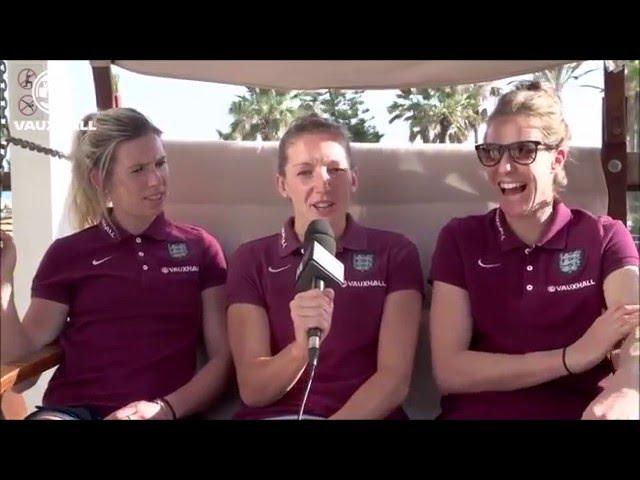 Lionesses Videos | GK Union: Bardsley, Chamberlain & Telford
