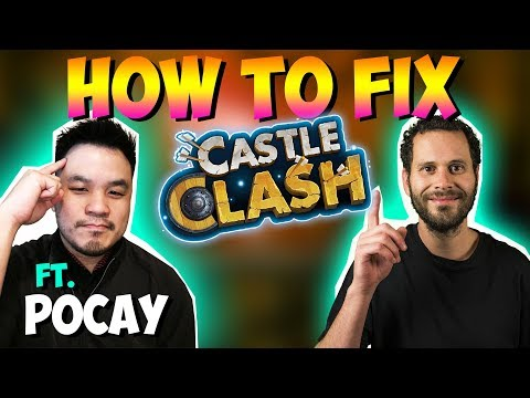How To Fix Castle Clash By JT And Pocay