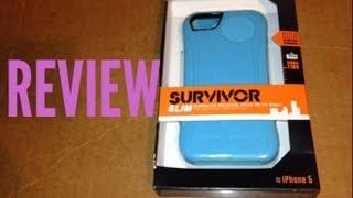griffin survivor slim iphone 5 case review