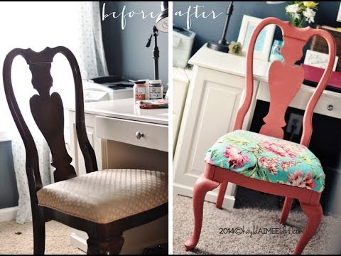 How To Paint And Seal Furniture with Home Decor Chalk paint Wax