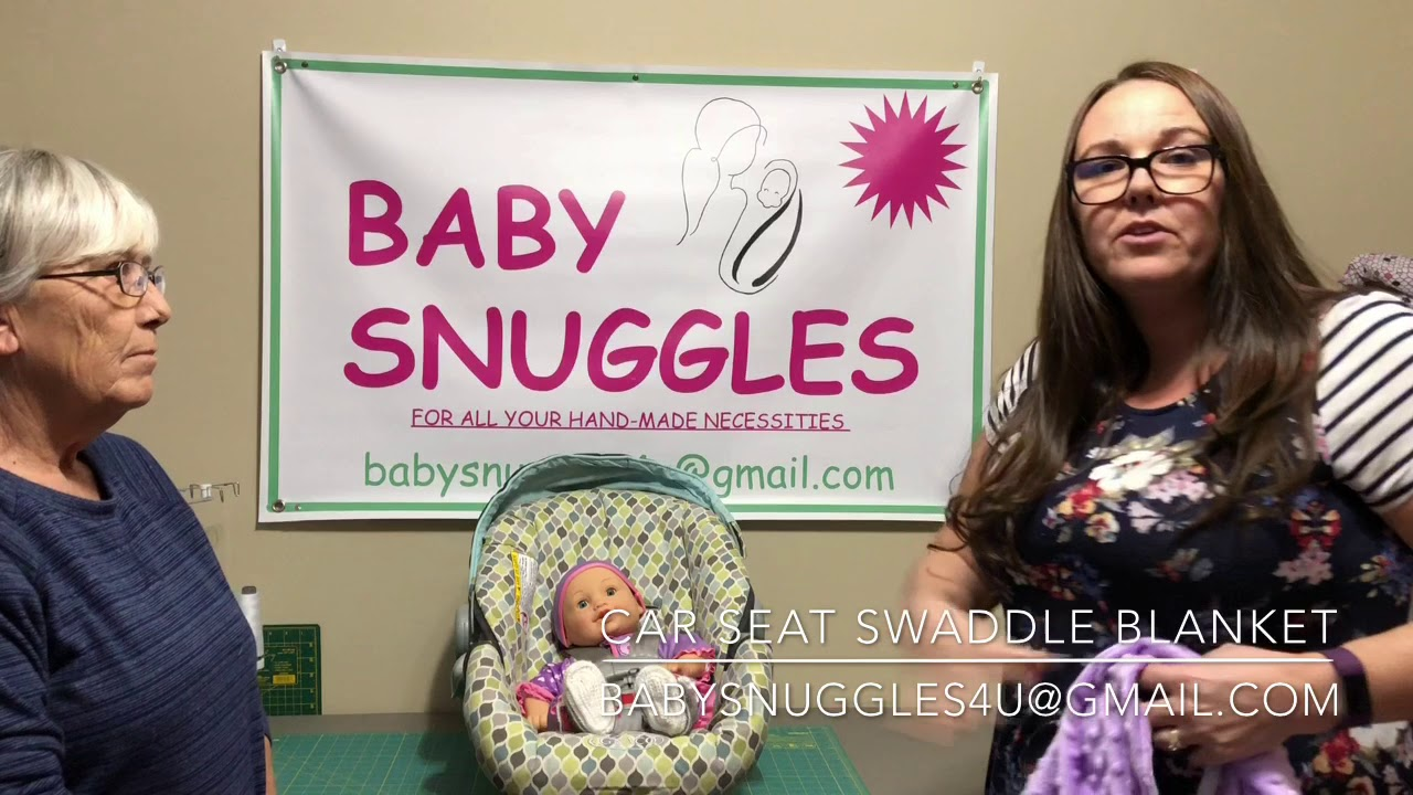 Baby Snuggles Car Seat Swaddle Blanket
