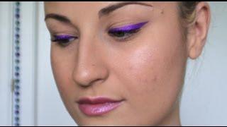 TUTORIAL: Maquillaje eyeliner de color morado eléctrico & intenso KIKO