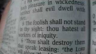 Psalm 5 King James Holy Bible
