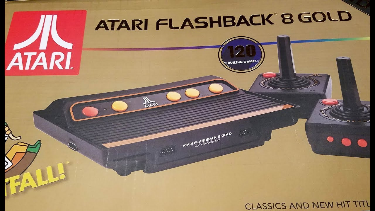 Classic Game Room Atari Flashback 8 Gold Review