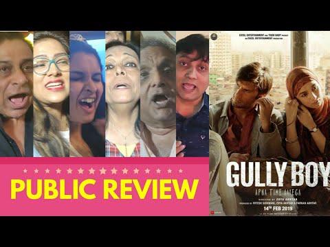 Gully Boy Movie PUBLIC REVIEW | Special Screening | Ranveer Singh, Alia Bhatt | Zoya Akhtar Film Mp3