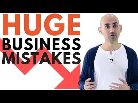3 DISASTROUS Business Mistakes All Entrepreneurs Make