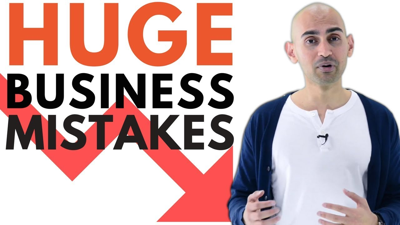 3 DISASTROUS Business Mistakes All Entrepreneurs Make