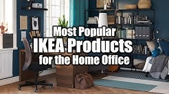 Most Popular IKEA Products for the Home Office Computer Setup