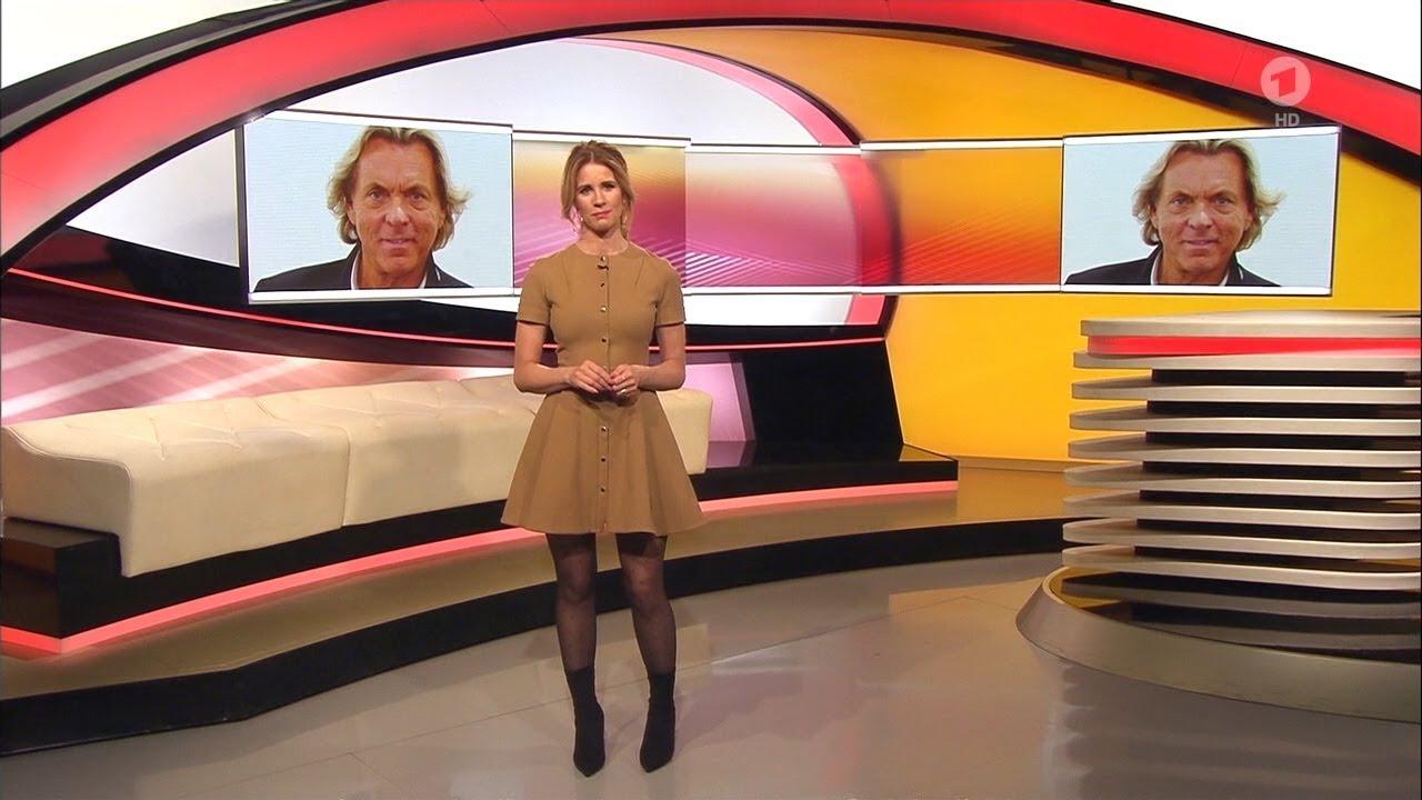 Mareile Höppner - Brisant HD - 12.12.2017 - Beige Mini ...