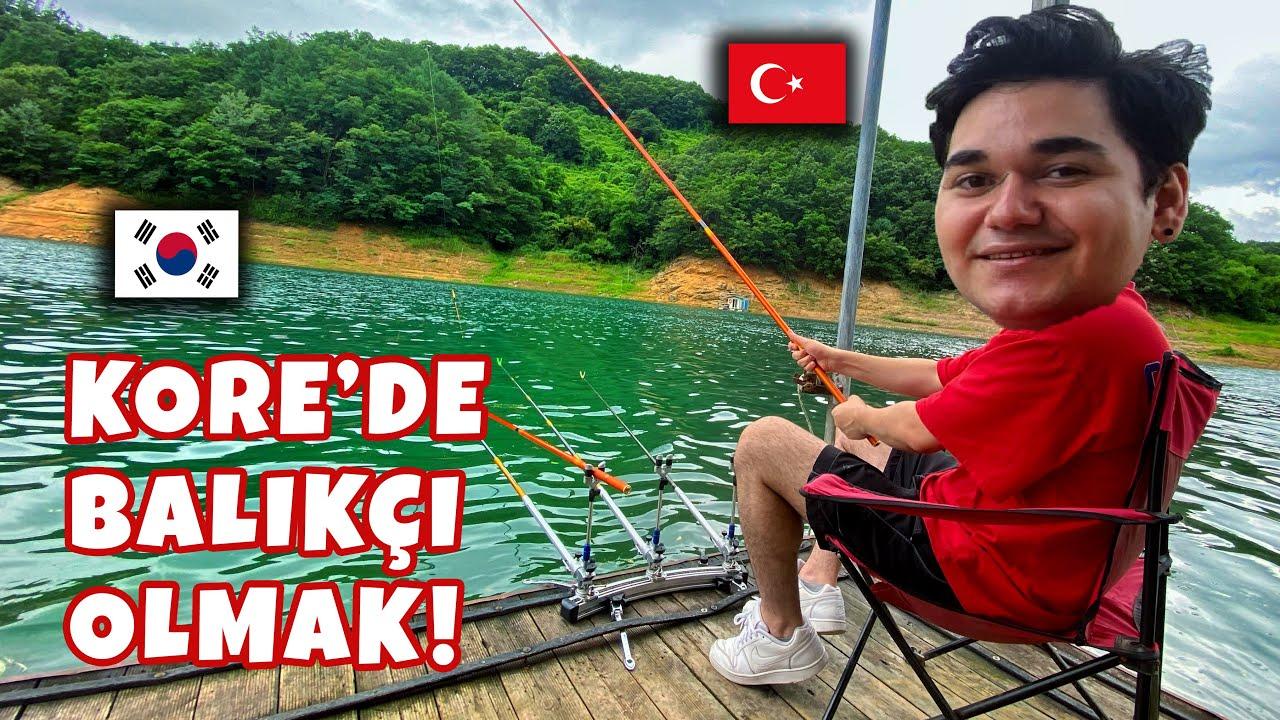Kore'de Balıkçı Olmak! (Türk Usulü Kamp Yaptık!)