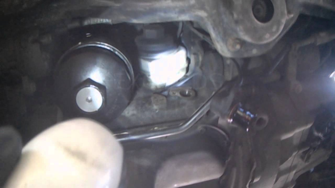 vw a3 28l vr6 aaa crankshaft position sensor removal youtube