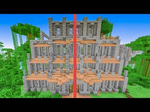 Minecraft Building w/ BdoubleO :: Bdubs Contrast Resource Pack?! 433