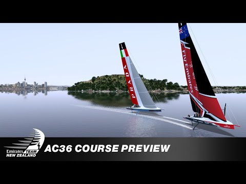 AC36: AUCKLAND'S RACE COURSES REVEALED