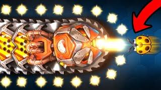 NEW LEGENDARY BOSS vs BABY TEAM (350,000 Score) - Little Big Snake Best Trolling Littlebigsnake.io