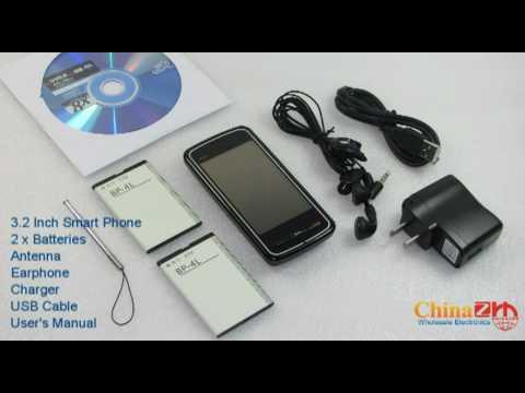 3.2 Inch Smart Phone PDA WIFI + GPS + Windows 6.5  - www.chinazrh.com