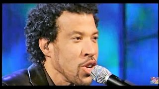 Lionel Richie-Easy Like Sunday Morning [Live]