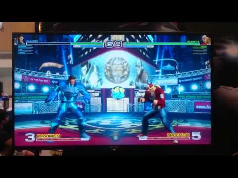 King of Fighters XIV match @ Singapore Campus Game Fest (2)