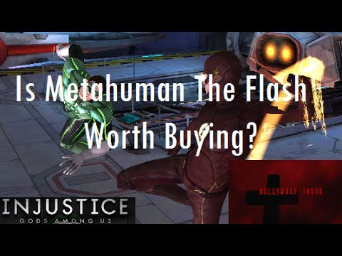 Injustice Gods Among Us iOS - Is Metahuman The Flash worth buying?