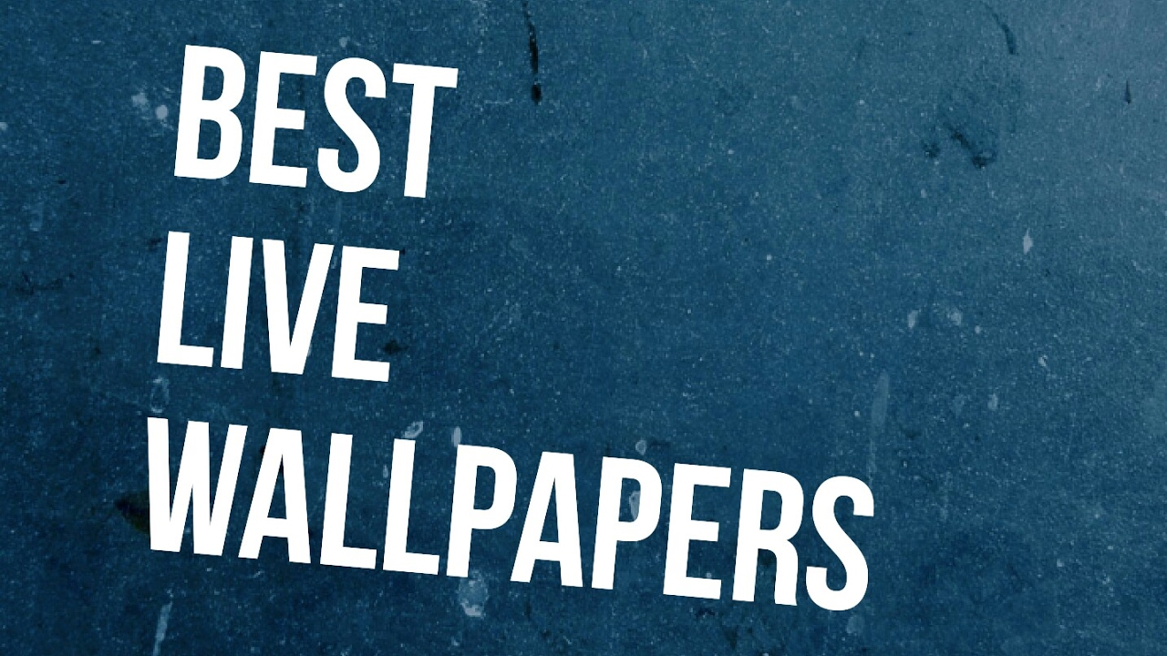 BEST Live Wallpapers Ever! - YouTube